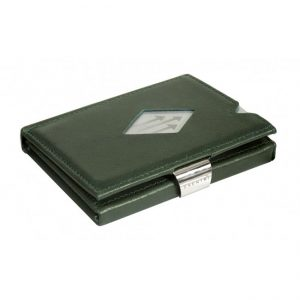 EMERALD GREEN LEATHER WALLET (RFID BLOCK)