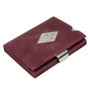 PURPLE LEATHER WALLET (RFID BLOCK)