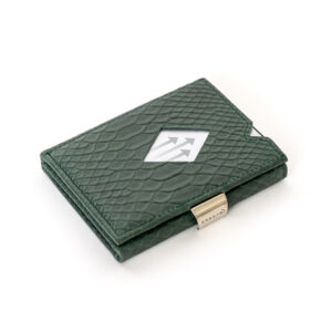 GREEN COBRA LEATHER WALLET (RFID BLOCK)